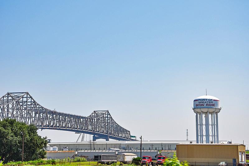 I-10 Mississippi River Bridge, Baton Rouge, Louisiana