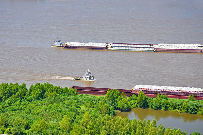 Mississippi River, Baton Rouge, Louisiana