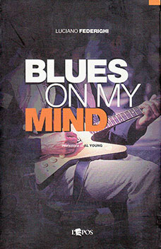 Blues on My Mind, copertina libro di Luciano Federighi