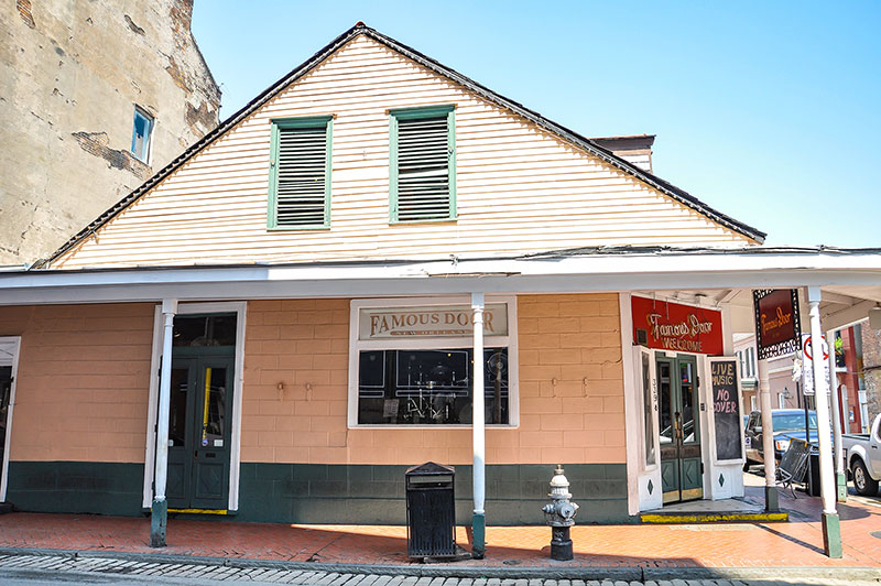 Famous Door, Bourbon Street, N.O., Louisiana