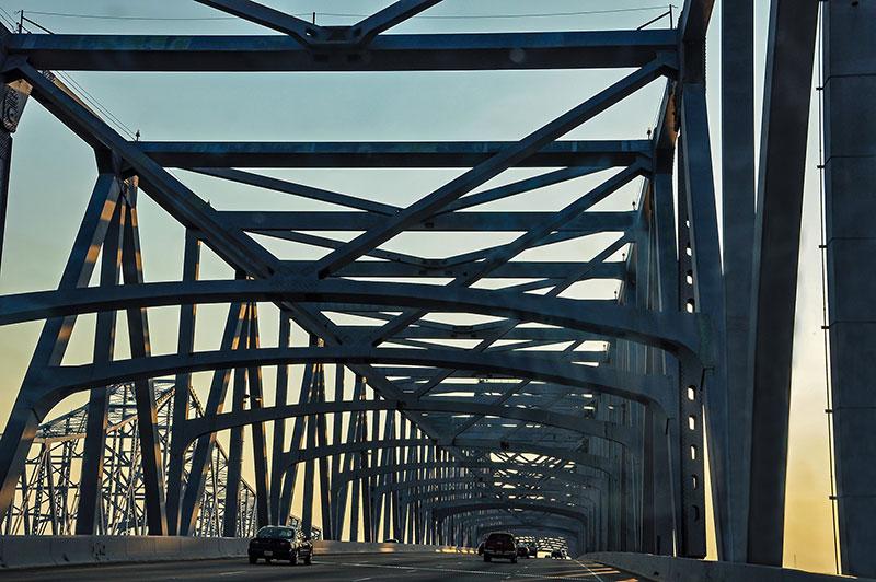Greater New Orleans Bridge, N.O., Louisiana