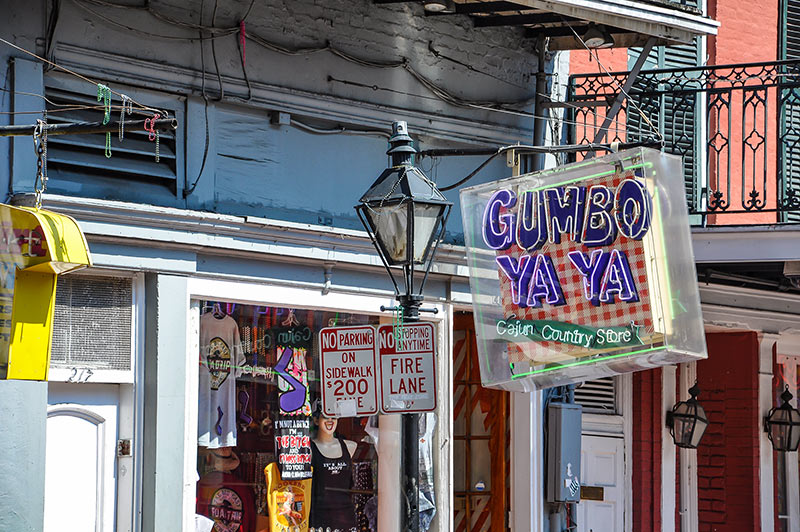 Gumbo Ya Ya, Bourbon Street, N.O., Louisiana