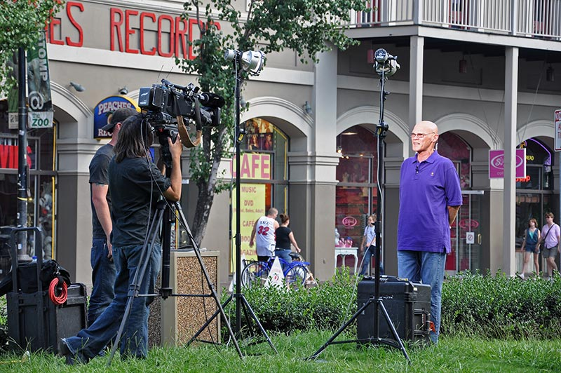 James Carville, New Orleans