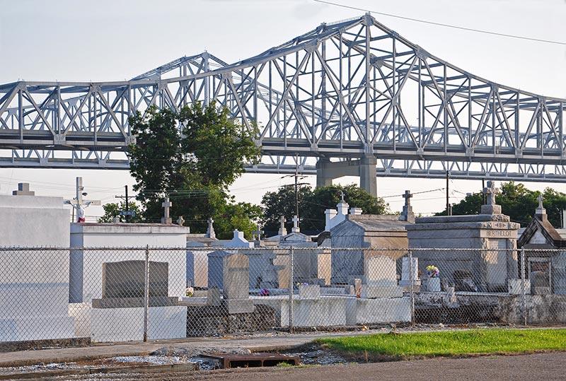 Cemetery, Algiers Point, N.O., Louisiana