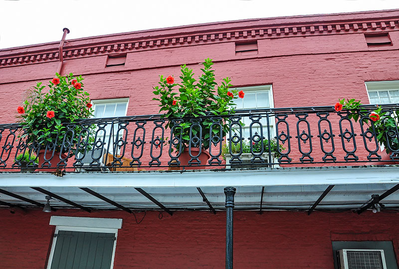 Galerie, French Quarter, N.O., Louisiana