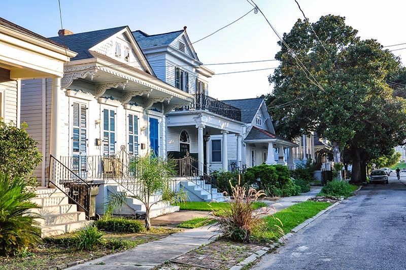 Historic homes, Algiers, N.O., Louisiana