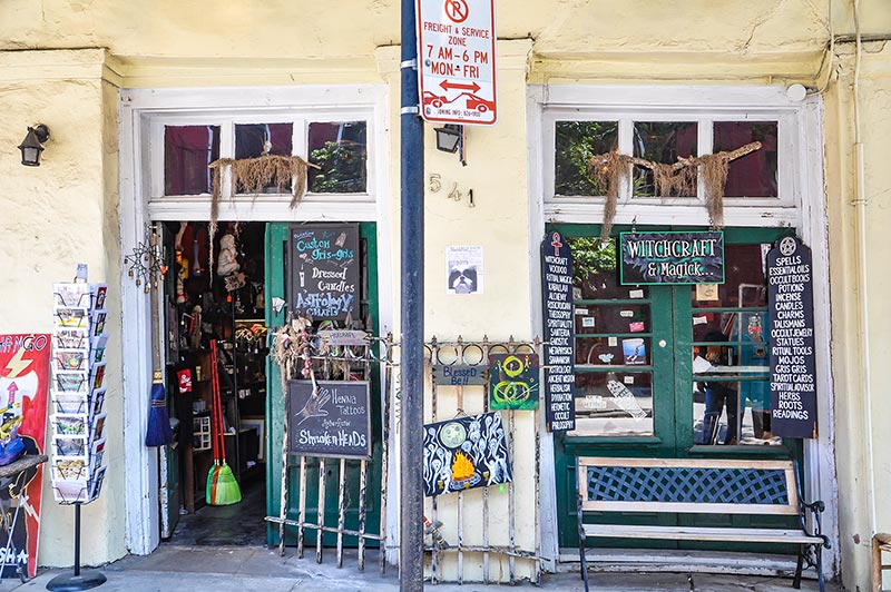 Witchcraft and Magick shop, New Orleans