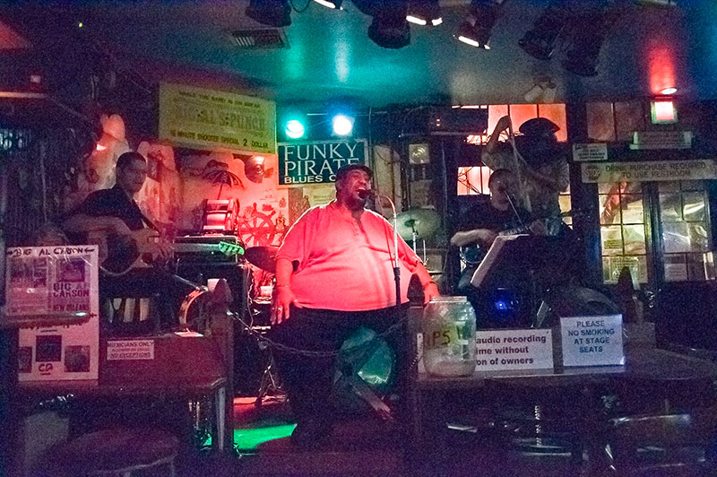 Big Al Carson, Funky Pirate, New Orleans