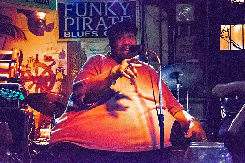 Big Al Carson, Funky Pirate, New Orleans