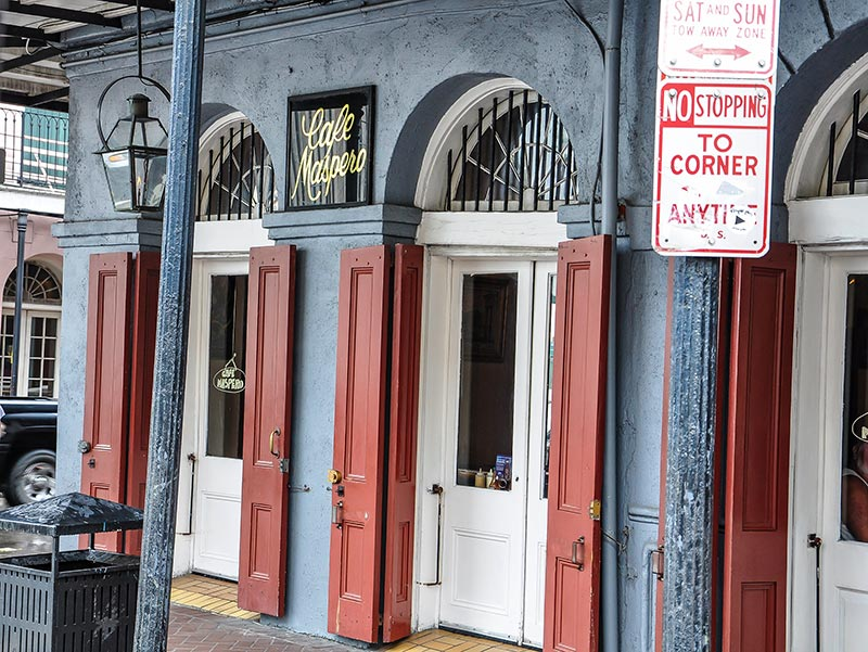 Café Maspero, New Orleans