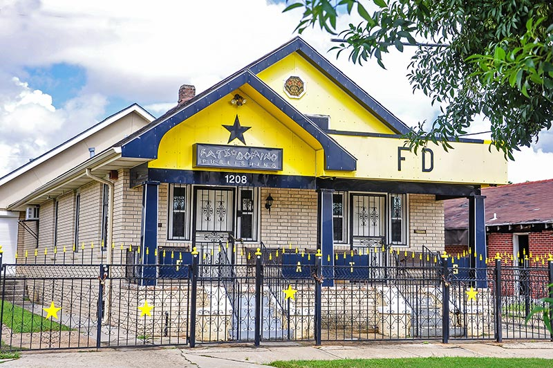 Fats Domino's house, Lower 9th Ward, New Orleans