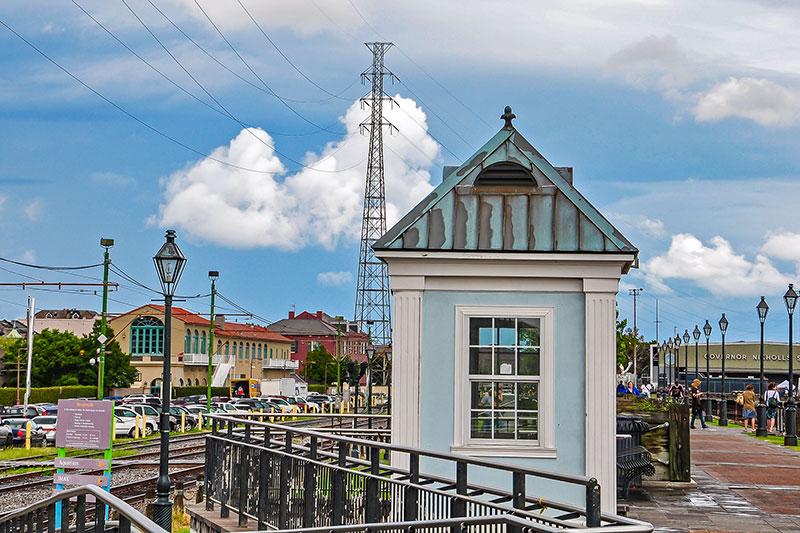 Governor Nicholls Wharf, New Orleans