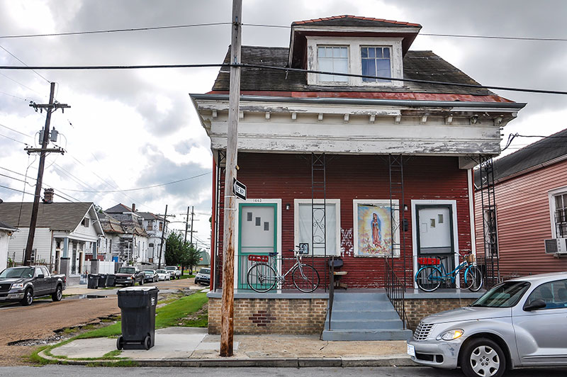 Jelly Roll Morton's house, New Orleans
