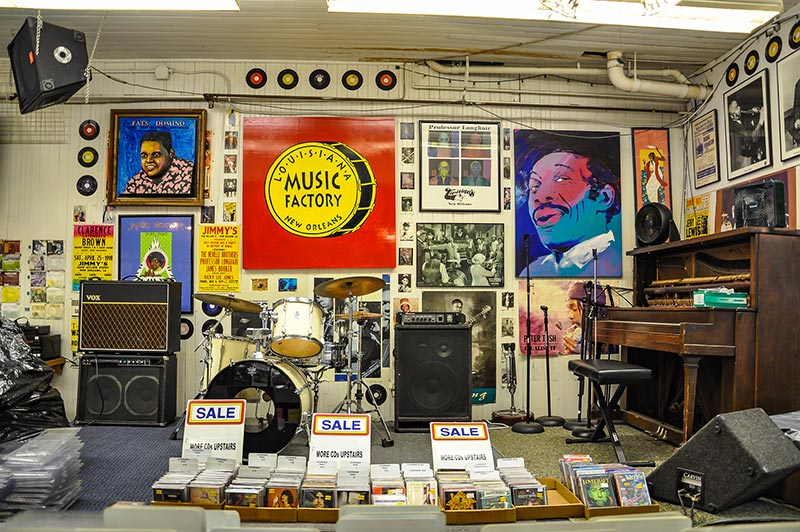 Louisiana Music Factory, New Orleans