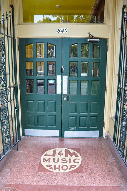 J&M Music Shop, New Orleans, first Cosimo Matassa's recording studio