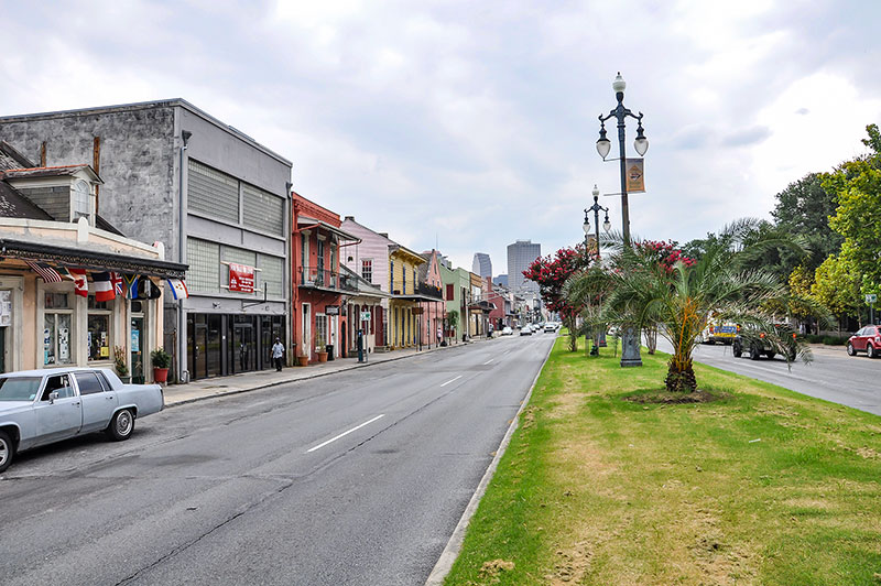 North Rampart, New Orleans