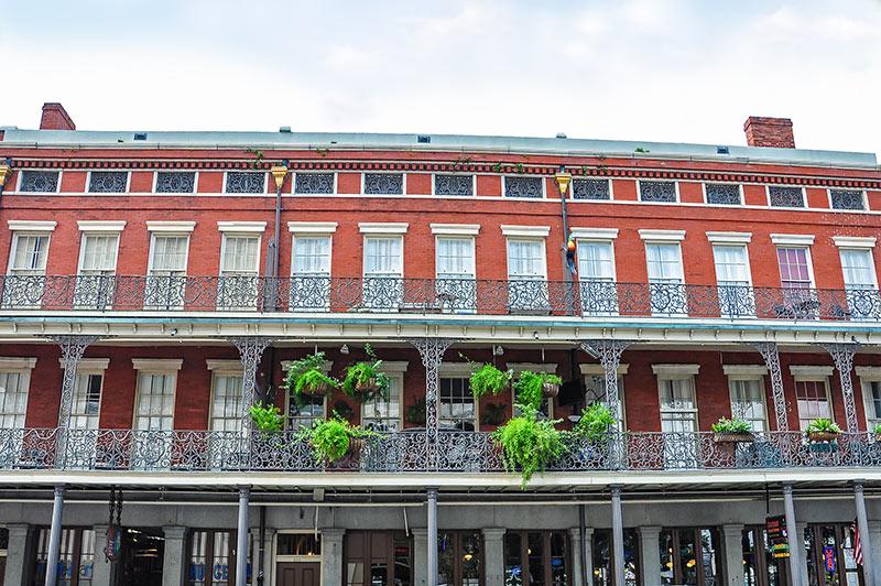 Pontalba Buildings, N.O., Louisiana