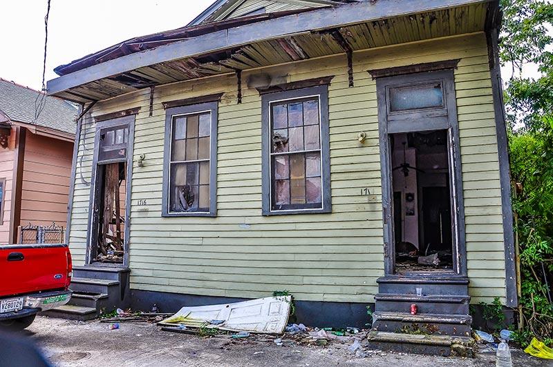 Sidney Bechet's house, New Orleans