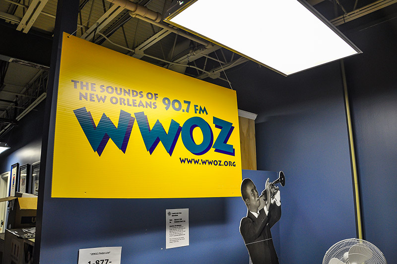 WWOZ radio station, New Orleans