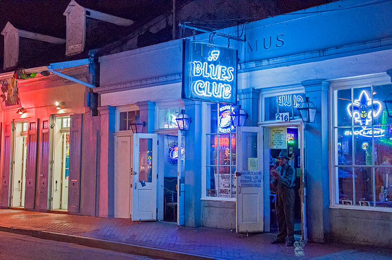 Blues Club, New Orleans