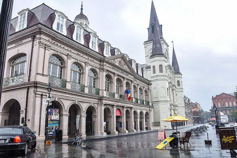 Cabildo and St Louis Cathedral, New Orleans