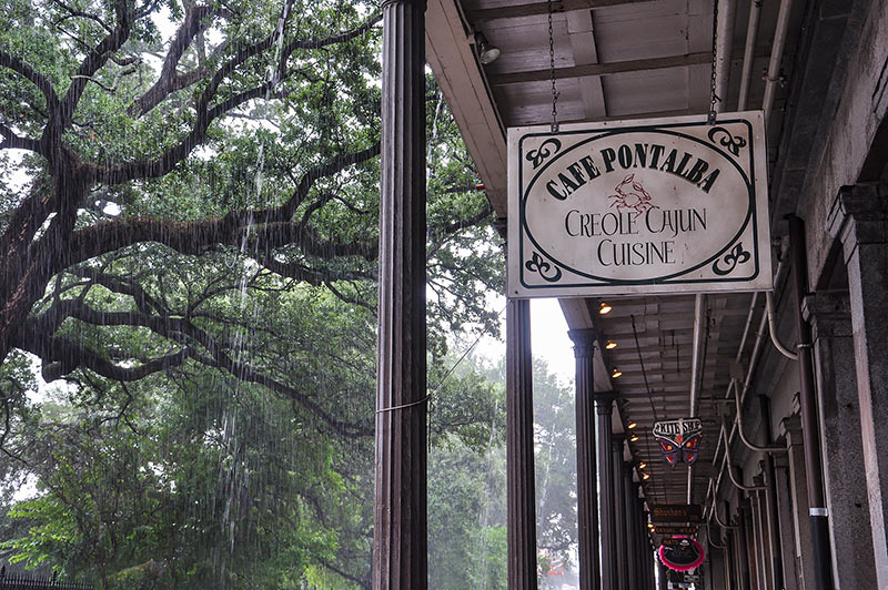 Cafe Pontalba, New Orleans