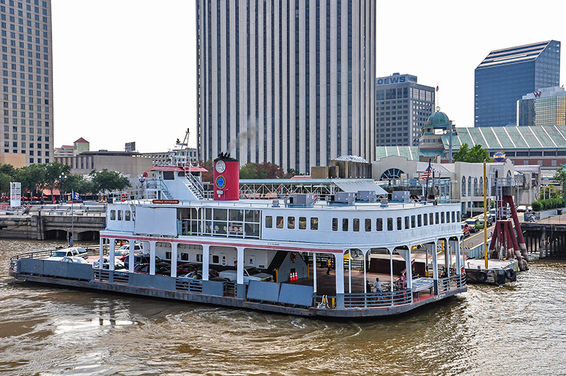 Canal Street ferry boat, New Orleans