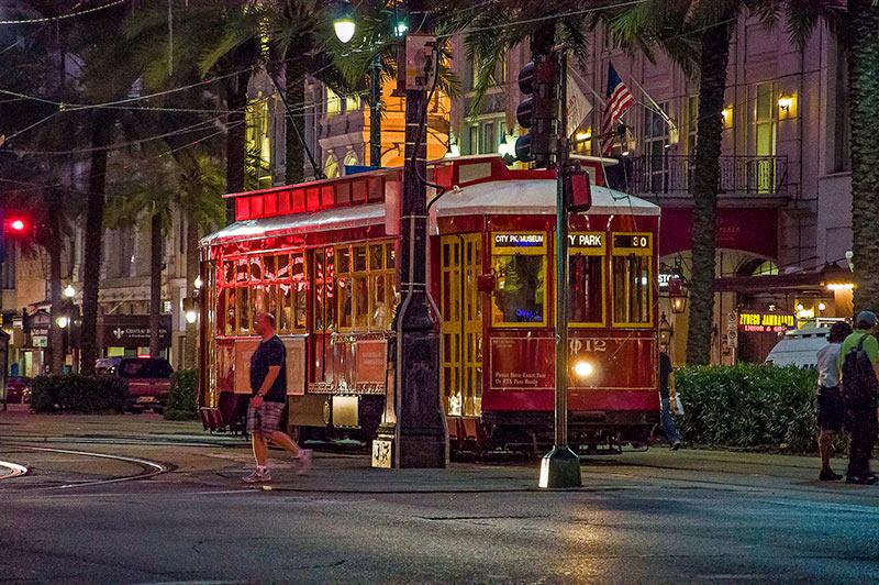 Canal Streetcar Line, N.O., Louisiana