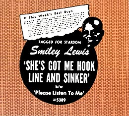 "Ad for ""She's Got Me Hook, Line & Sinker"" record"