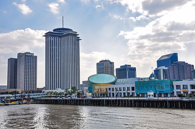 Central Business District skyline, New Orleans