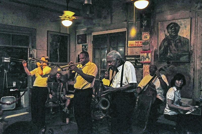 The Preservation Hall Jazz Masters, feat. Leroy Jones, N.O., Louisiana