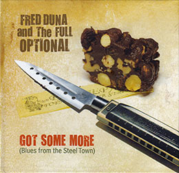 Copertina CD di Fred Duna and The Full Optional, Got Some More