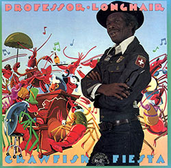 Cover of Professor Longhair's CD Crawfish Fiesta