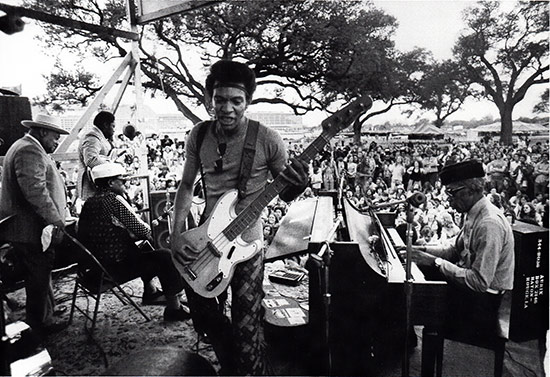 New Orleand Jazz-Fest, 1973