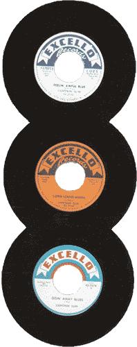 Lightnin' Slim's Excello records
