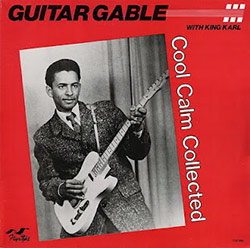 "Cover of Guitar Gable vinyl ""Cool Calm Collected"" (Flyright Records)"