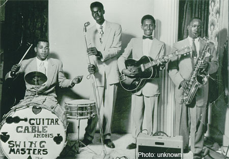 Guitar Gable and His Swing Masters, 1954