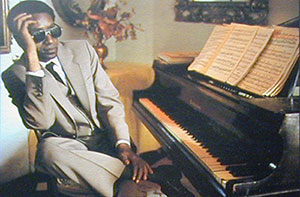 "James Booker at the piano (in the days of ""Classified"")"