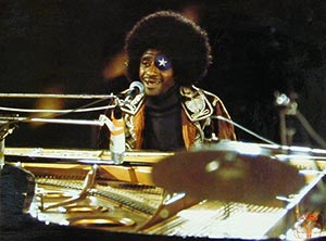 James Booker in concert