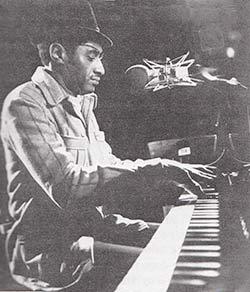 J.C. Booker in concert