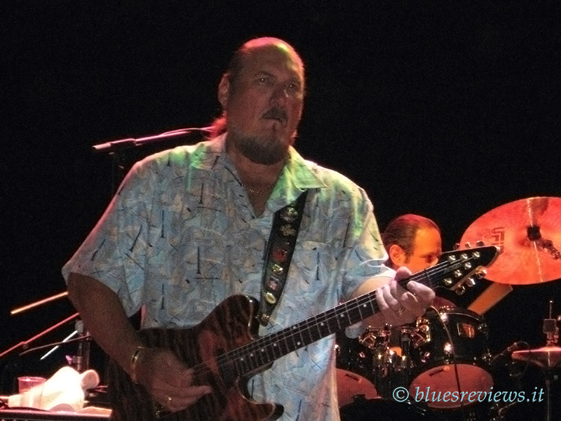Steve Cropper in Parma, July 2007