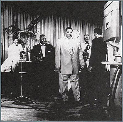 "Big Joe Turner in ""Shake, Rattle & Rock"" film"