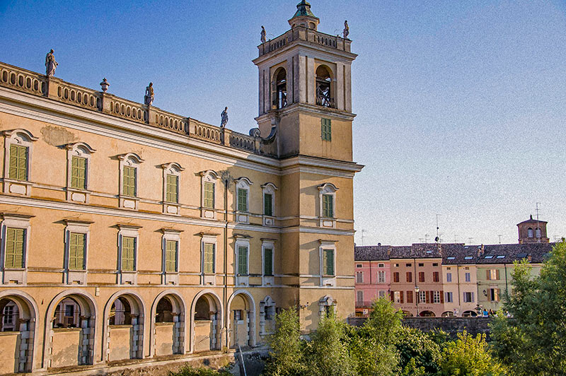 Reggia di Colorno (retro), Parma