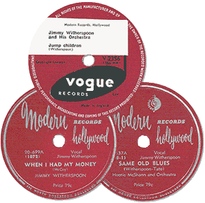 Witherspoon's 78 rpm records