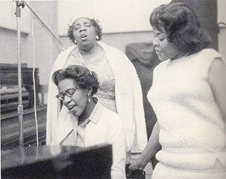 Dinah Washington & family