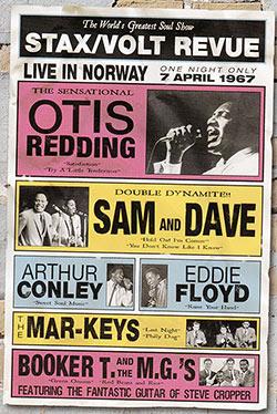 Stax/Volt Revue 1967's flyer