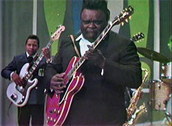 Freddie King and Billy Cox