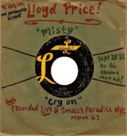 Lloyd Price, Misty
