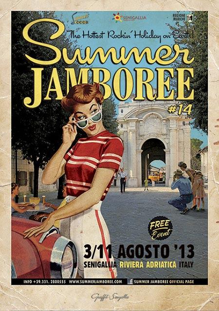 Summer Jamboree #14 poster