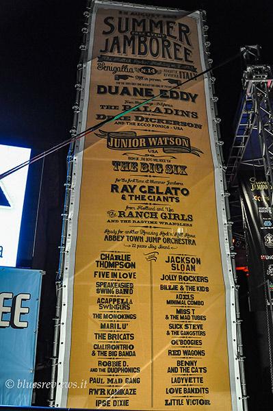 Summer Jamboree 2013 poster